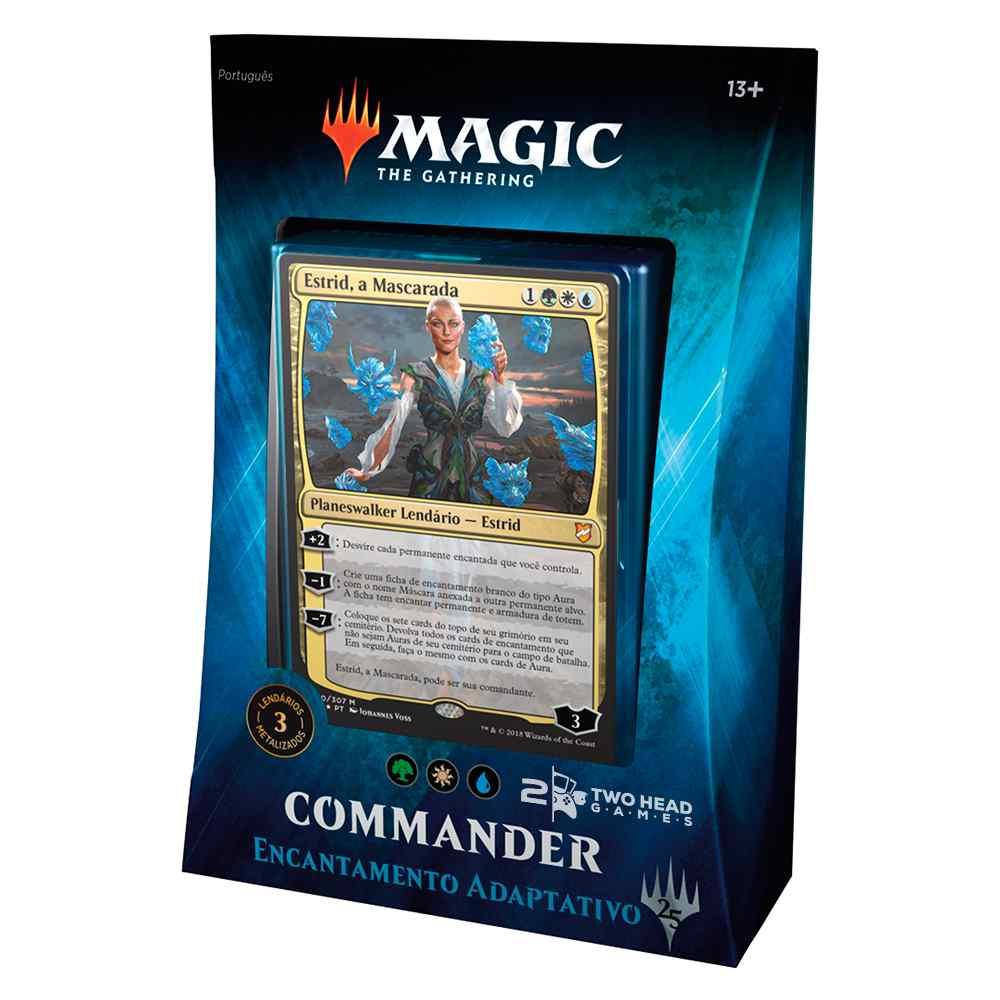 Magic Commander 2018 Deck Encantamento Adaptativo