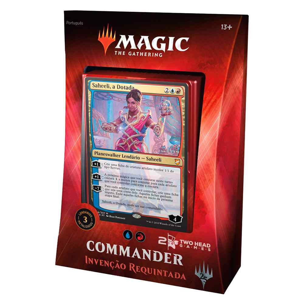 Magic Commander 2018 Deck Invenção Requintada