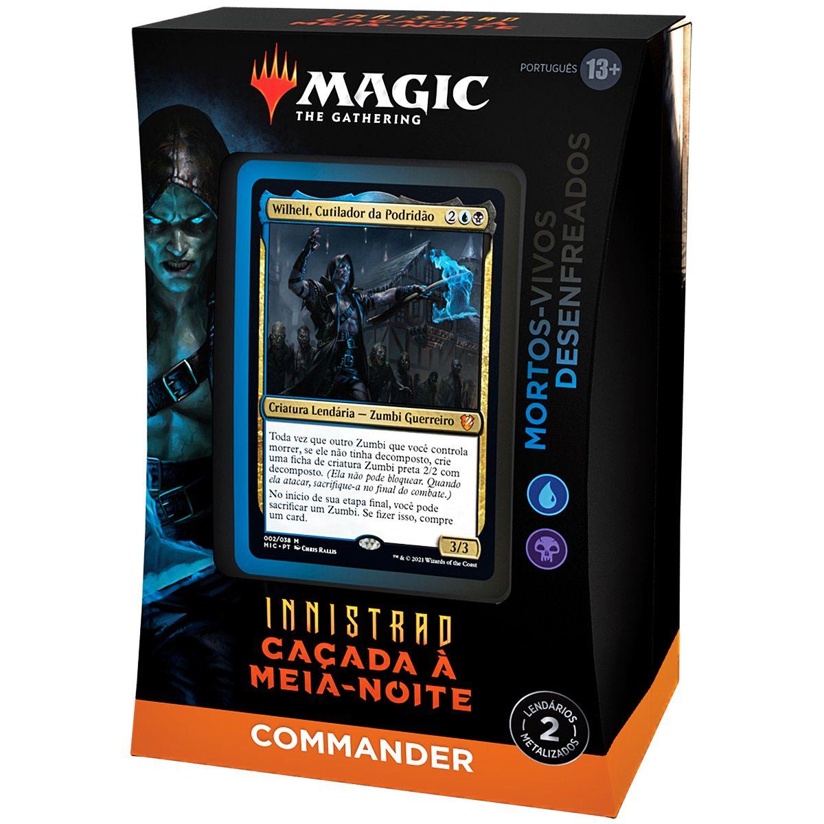 Magic Deck Commander Innistrad Caçada A Meia-Noite Wilhelt