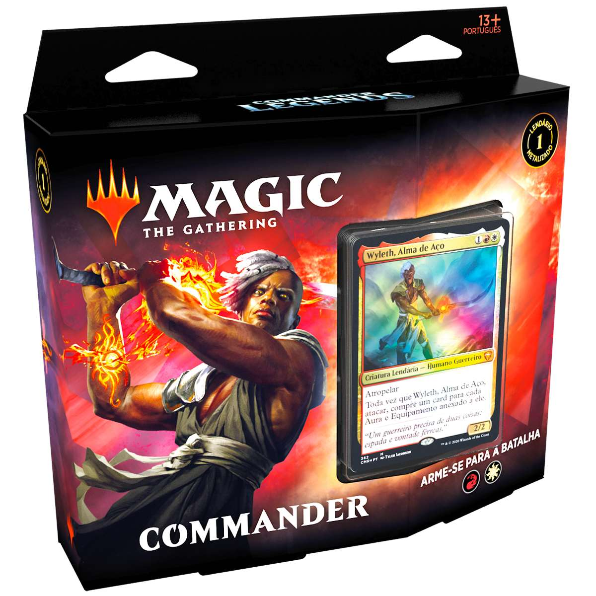Magic Deck Commander Legends Arme-se Para A Batalha Wyleth