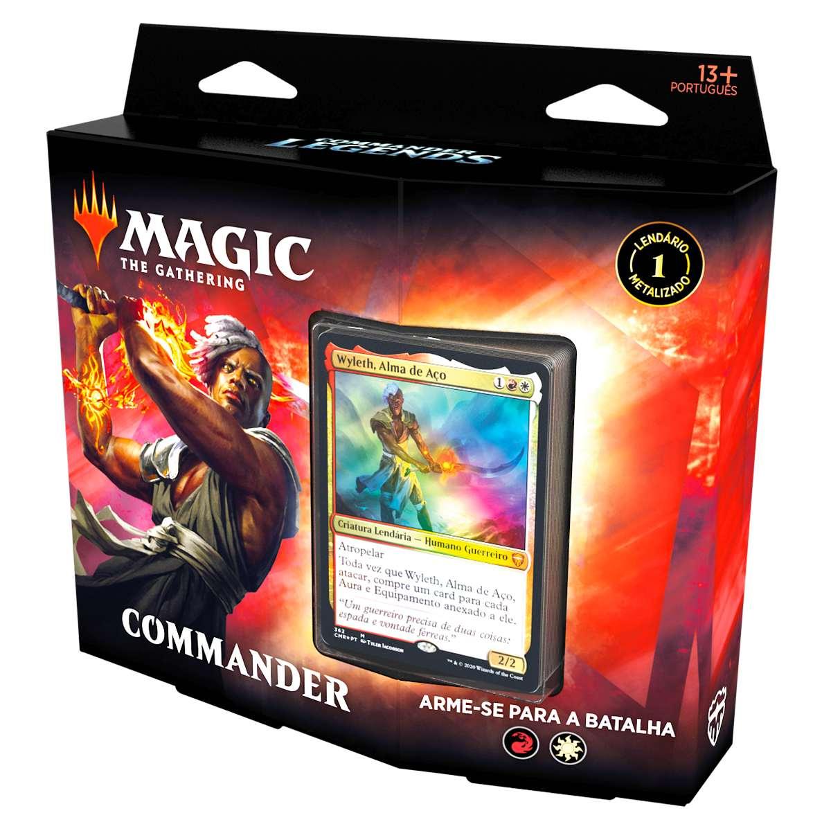 Magic Deck Commander Legends Arme-se Para A Batalha Wyleth