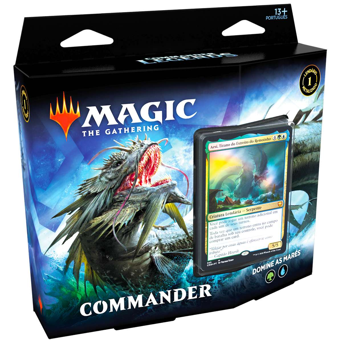 Magic Deck Commander Legends Domine As Marés Aesi