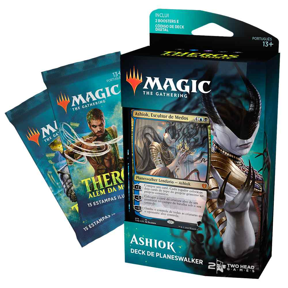 Magic Deck Planeswalker Ashiok Theros Alem da Morte