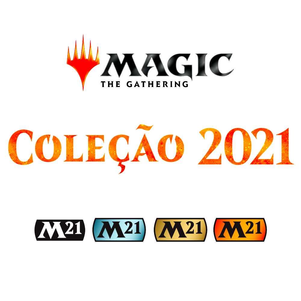 Magic Deck Planeswalker Garruk Coleção Básica 2021 Core M21