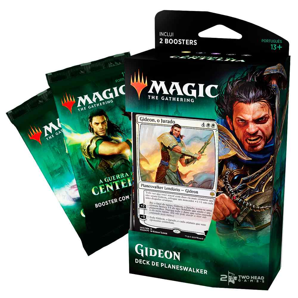 Magic Deck Planeswalker Gideon Guerra da Centelha War Spark