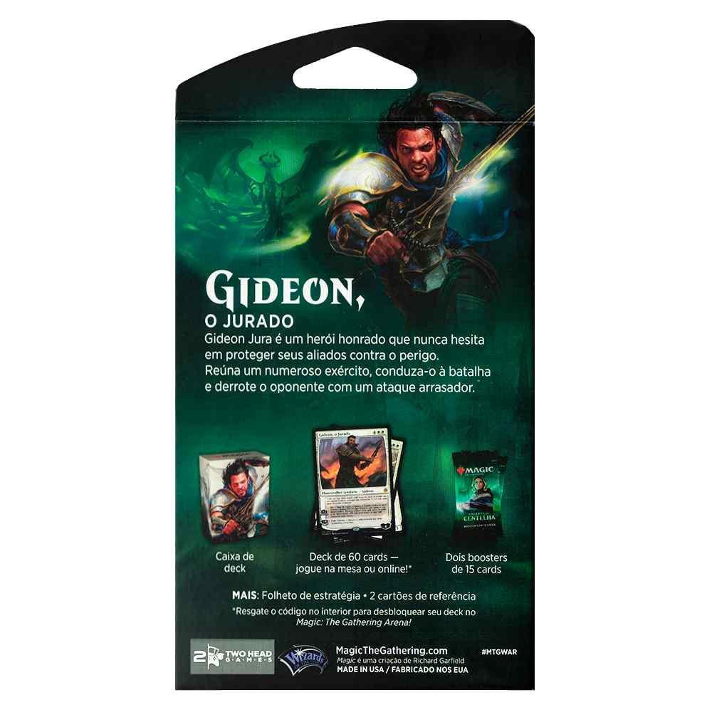 Magic Deck Planeswalker Gideon Guerra da Centelha War Spark