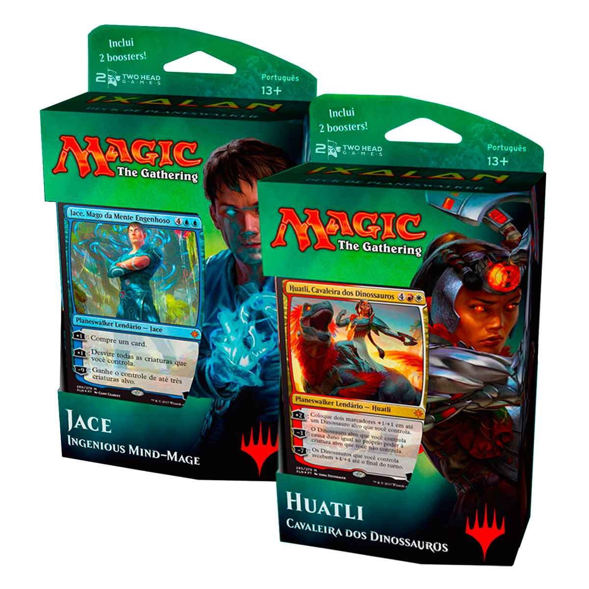 Magic Deck Planeswalker Ixalan Jace e Huatli