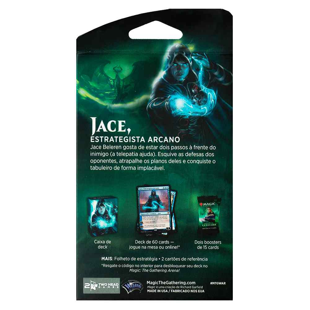 Magic Deck Planeswalker Jace Guerra da Centelha War Spark