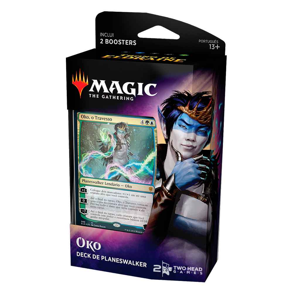Magic Deck Planeswalker Oko Trono de Eldraine Throne