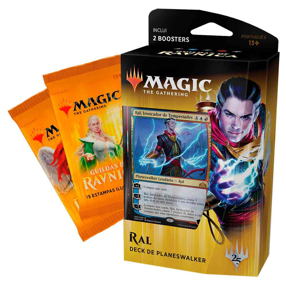 Magic Deck Planeswalker Ral Guildas de Ravnica Guilds