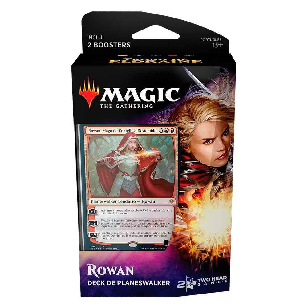 Magic Deck Planeswalker Rowan Trono de Eldraine Throne