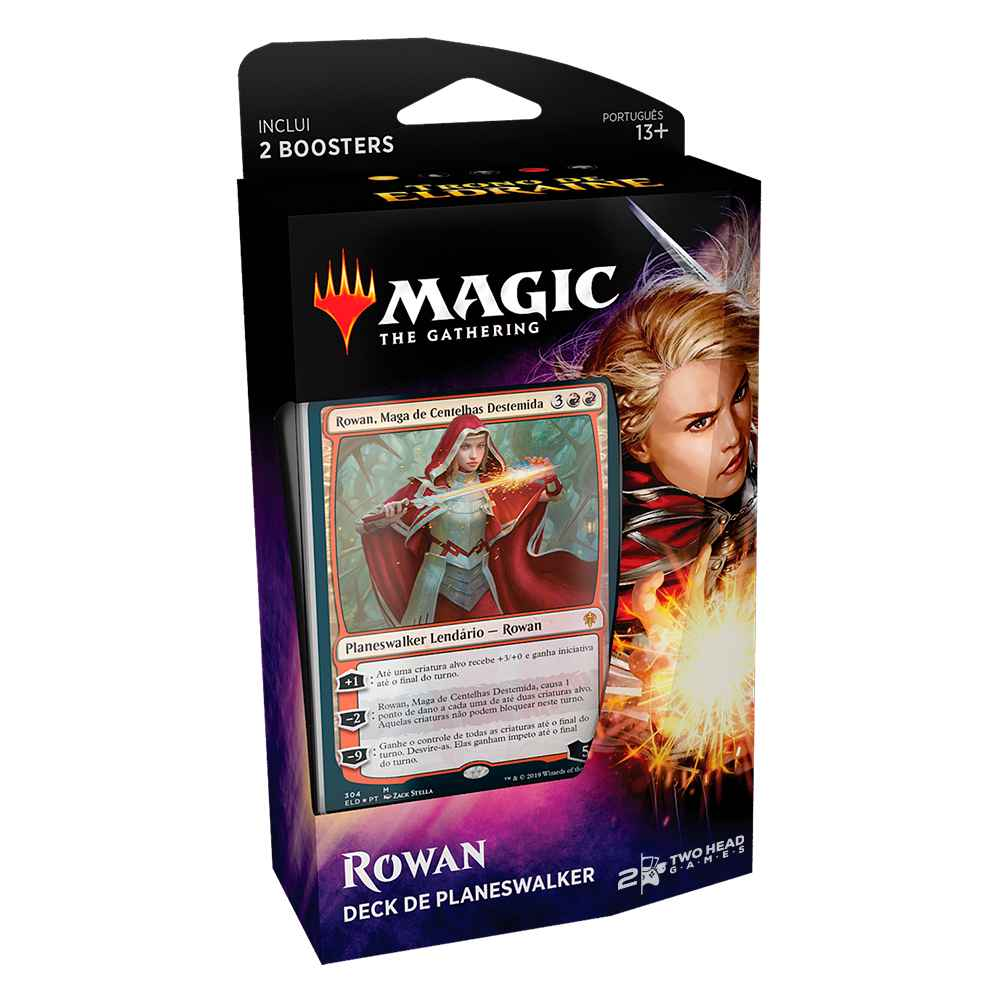 Magic Deck Planeswalker Rowan Trono de Eldraine Throne