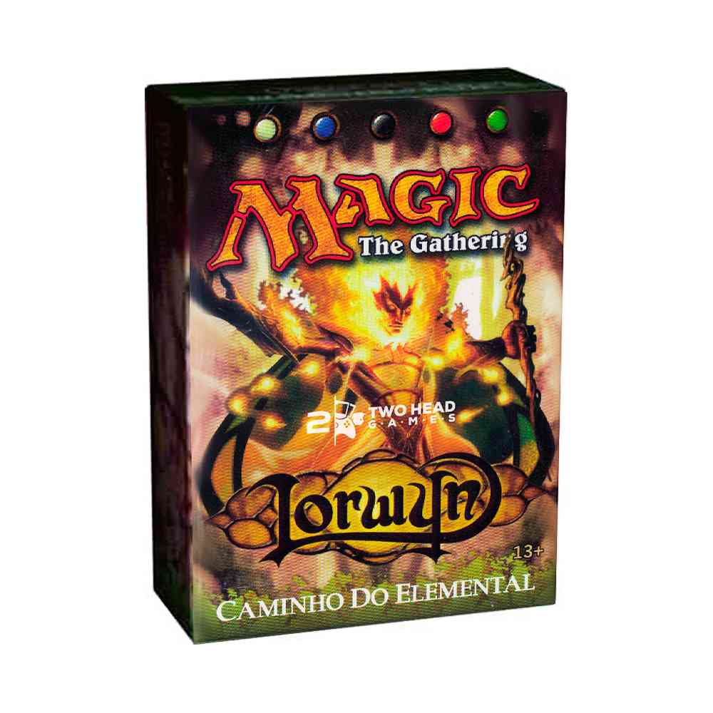 Magic Deck Pre Construido Caminho Elemental Lorwyn