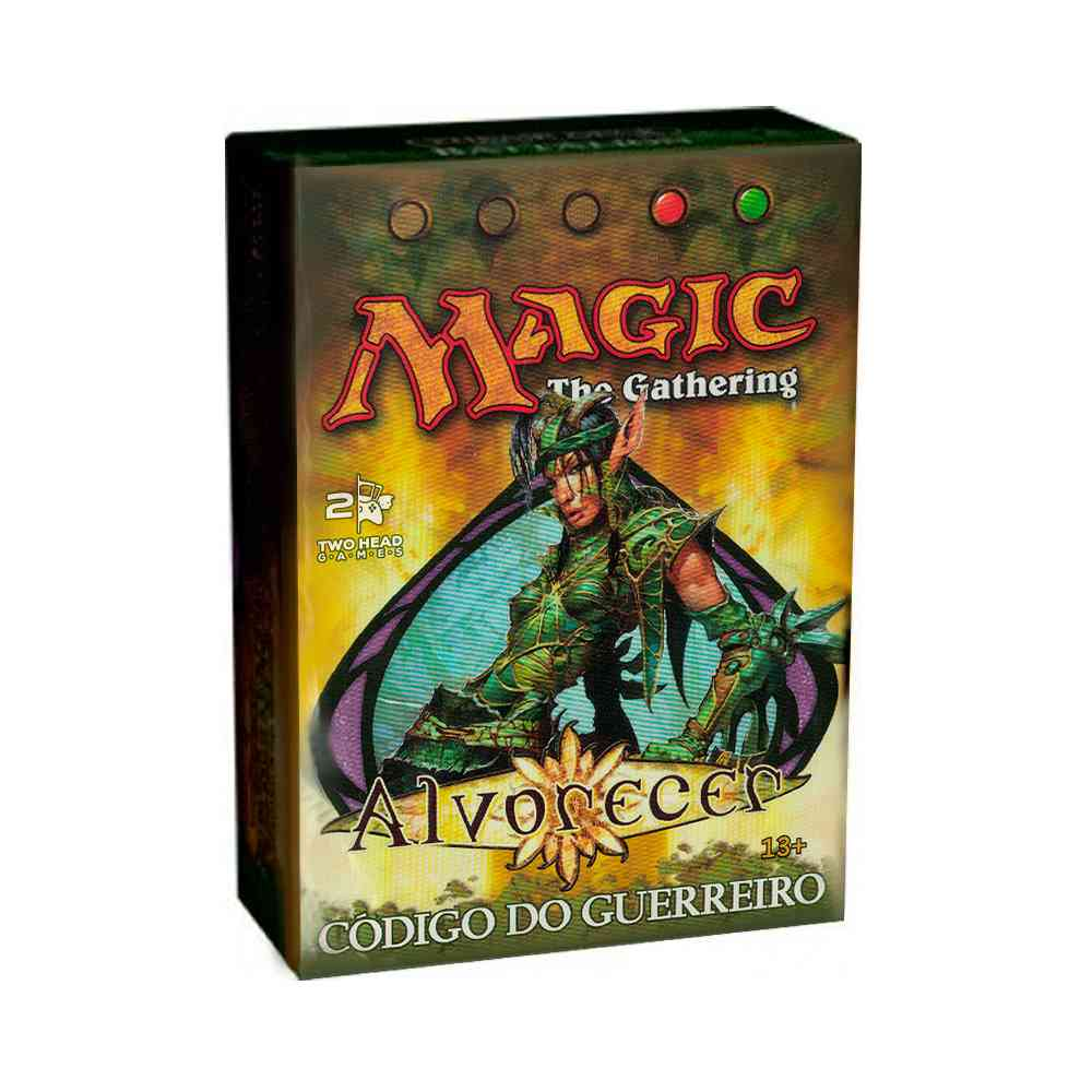Magic Deck Pre Construido Codigo do Guerreiro Alvorecer