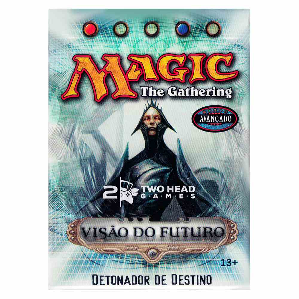 Magic Deck Pre Construído Detonador Destino Visão do Futuro