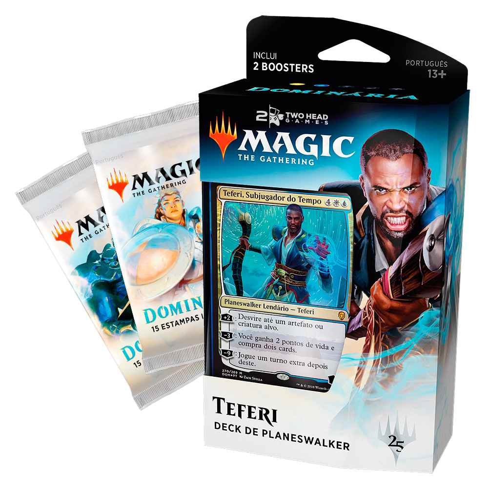 Magic Dominaria Deck Planeswalker Teferi