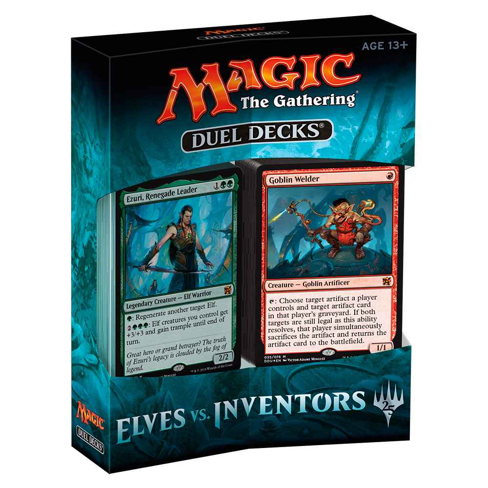 Magic Duel Decks Elves vs Inventors