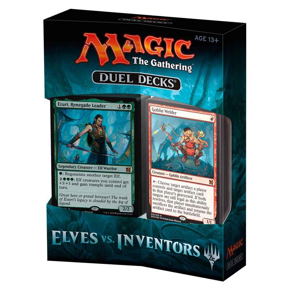 Magic Duel Decks Elves vs Inventors