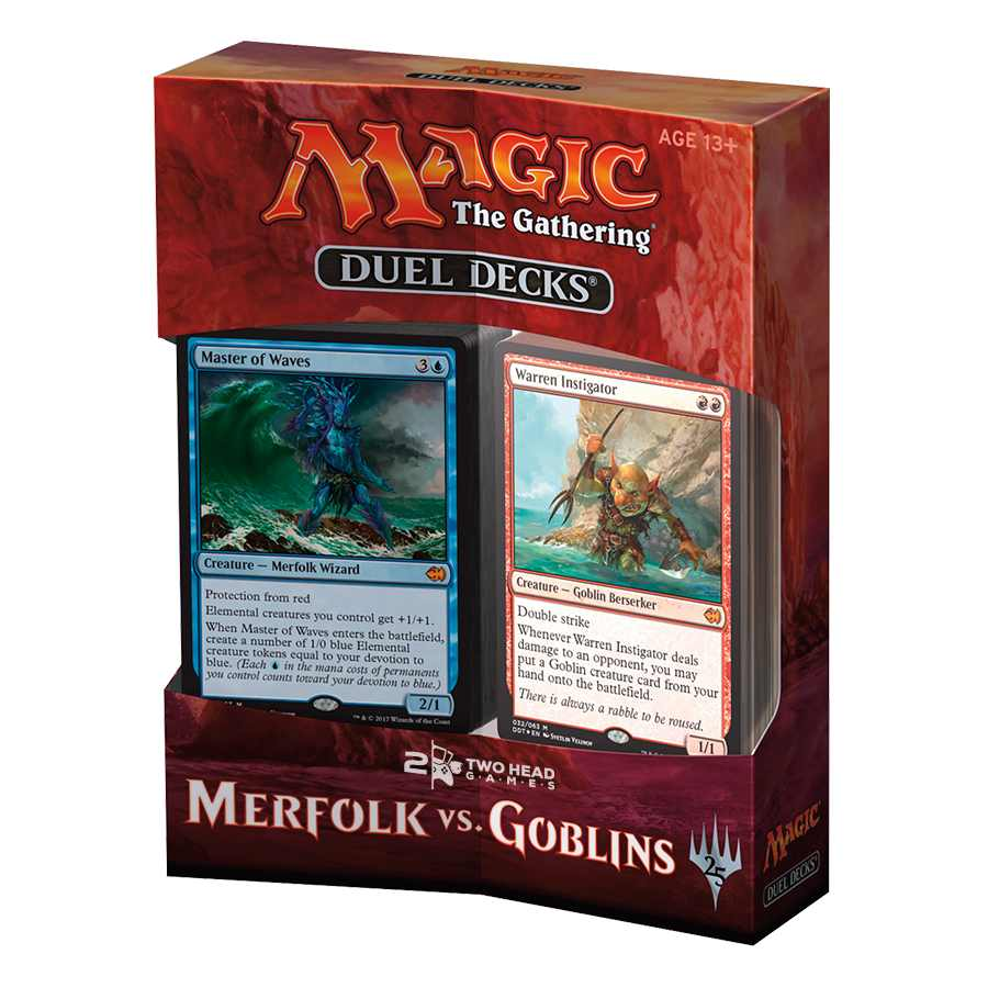 Magic Duel Decks Merfolk vs Goblins