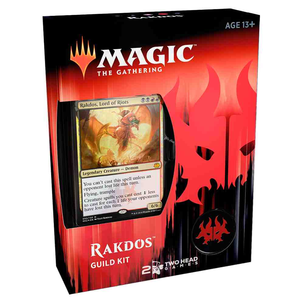 Magic Guild Kit Of Ravnica Allegiance Deck Cult Of Rakdos