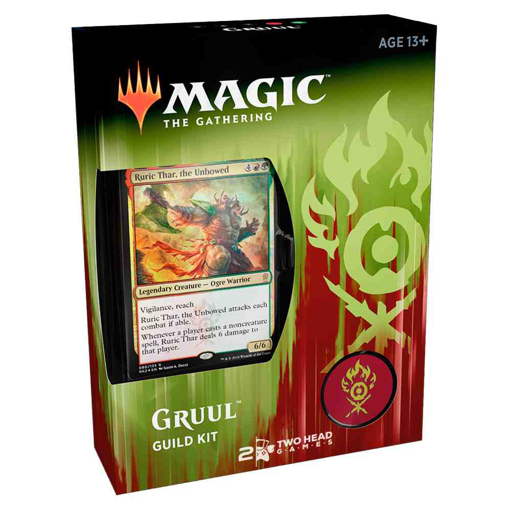 Magic Guild Kit Of Ravnica Allegiance Deck Gruul Clans