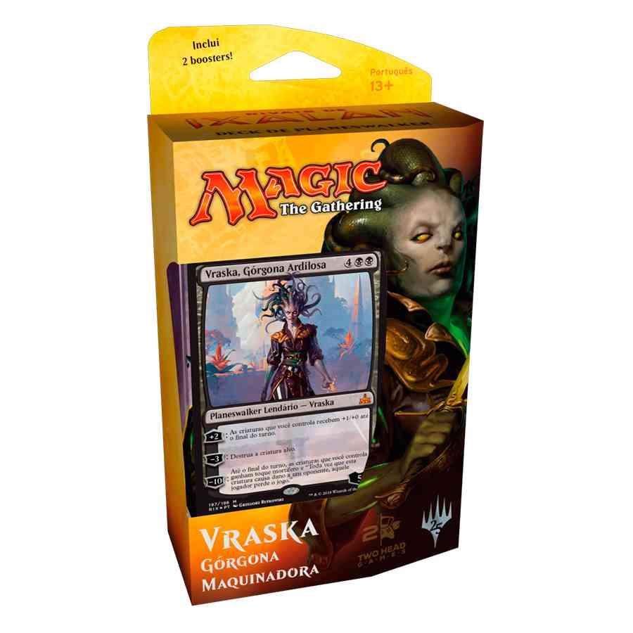 Magic Rivais de Ixalan Deck Planeswalker Vraska