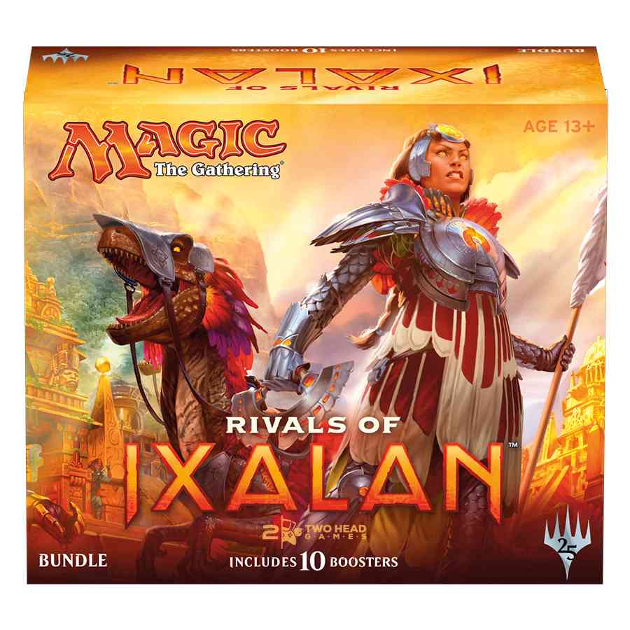 Magic The Gathering Rivais De Ixalan Bundle