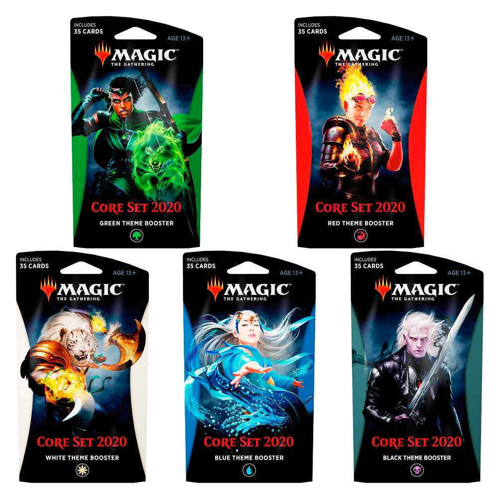 Magic Theme Booster Coleção Básica 2020 Core Set M20