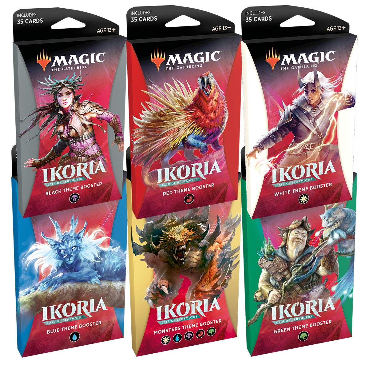 Magic Theme Booster Ikoria Terra de Colossos Temático