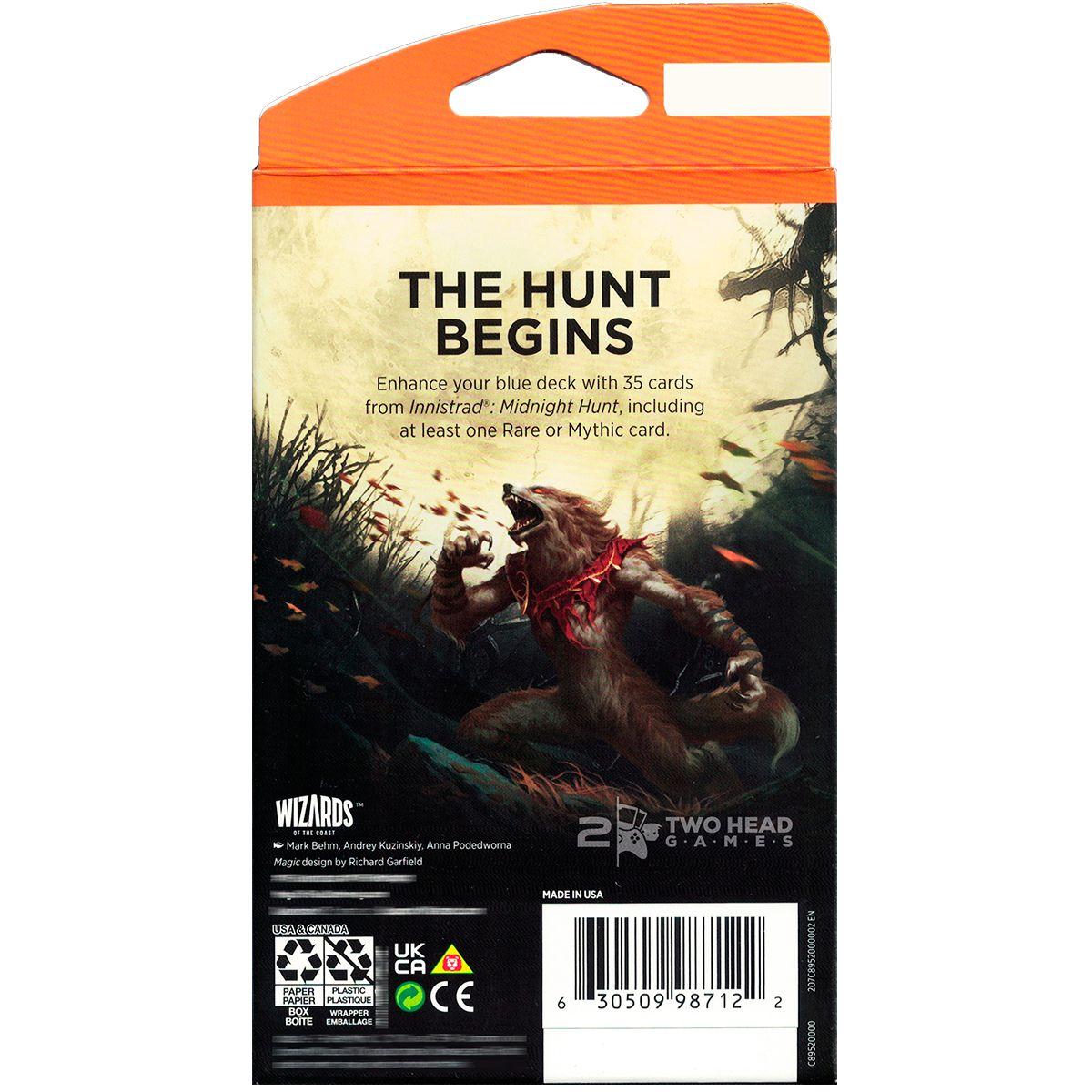 Magic Theme Booster Innistrad Midnight Hunt Temático