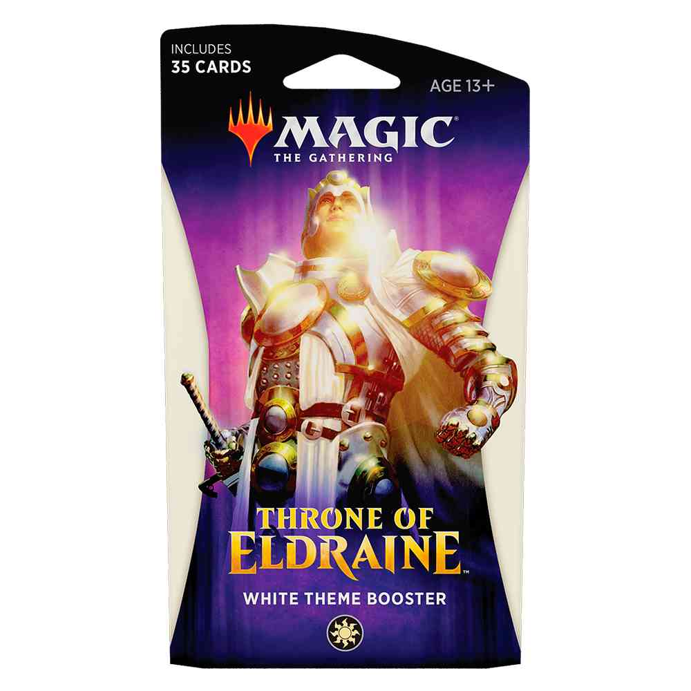 Magic Theme Booster Throne Of Eldraine Temático
