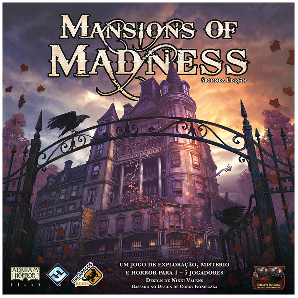 Mansions of Madness Jogo de Tabuleiro