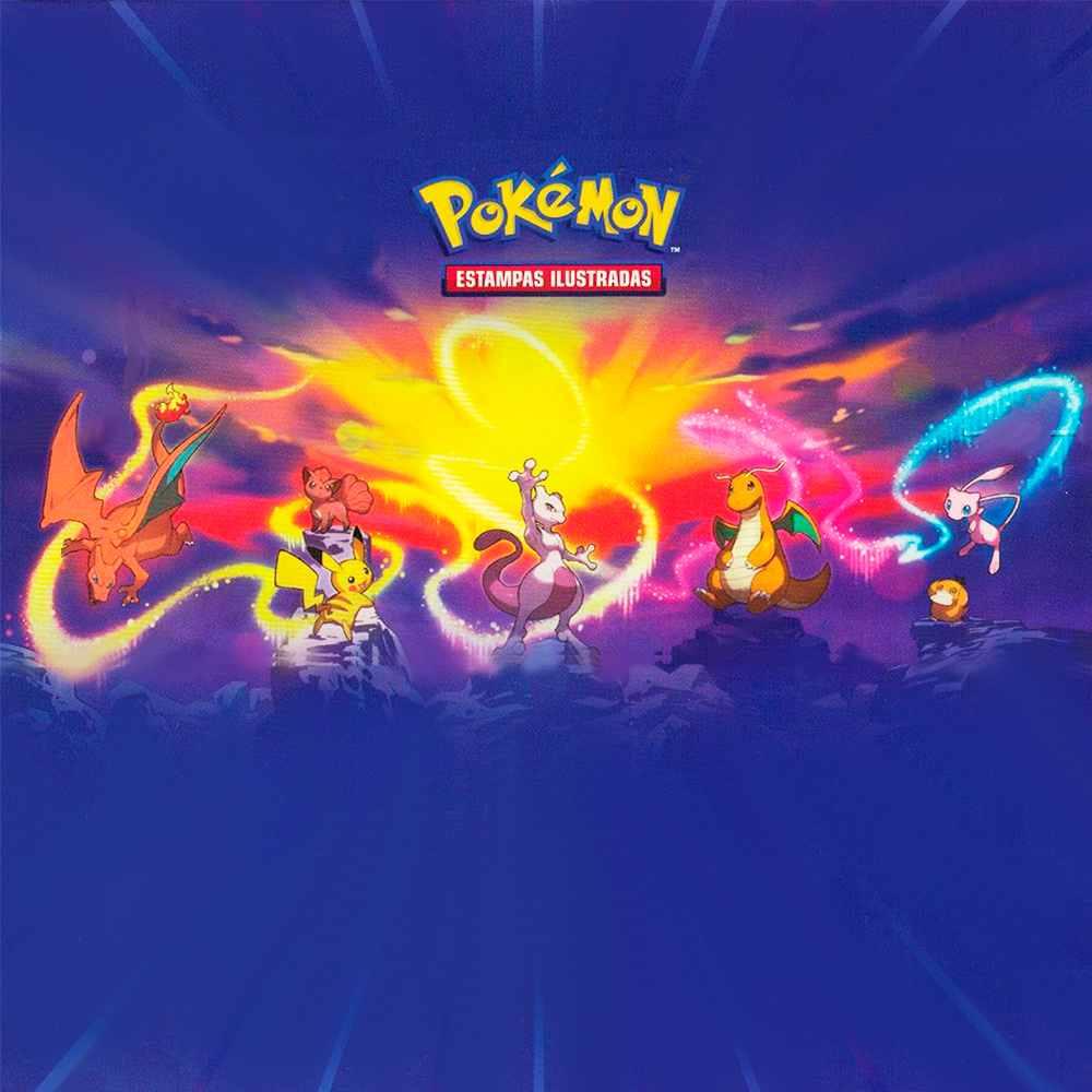 Mini Lata Pokémon Poder de Kanto Portugues