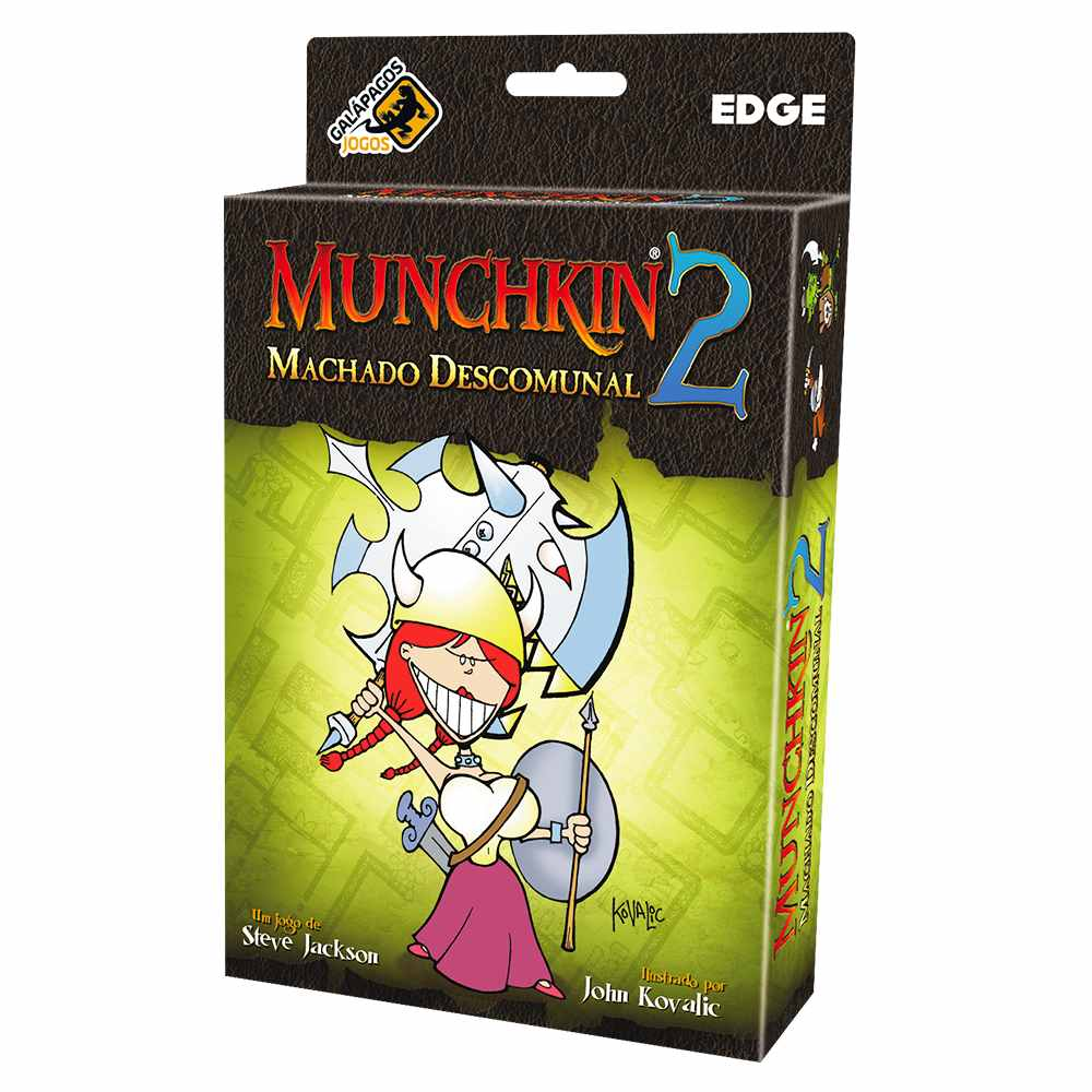 Munchkin 2 Machado Descomunal Expansão Jogo de Cartas