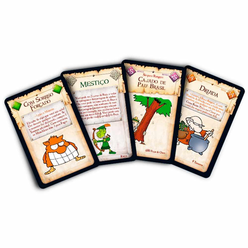 Munchkin 5 In Domável Expansão Jogo de Cartas