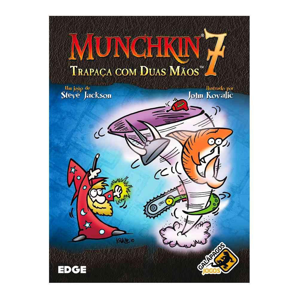 Munchkin 7 Trapaça com Duas Mãos Expansão Jogo de Cartas