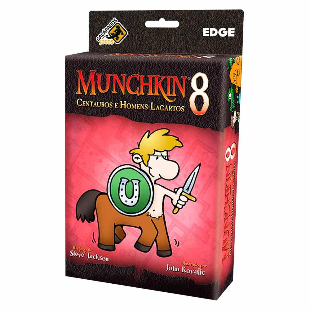 Munchkin 8 Centauros e Homens Lagartos Expansão Jogo de Cartas