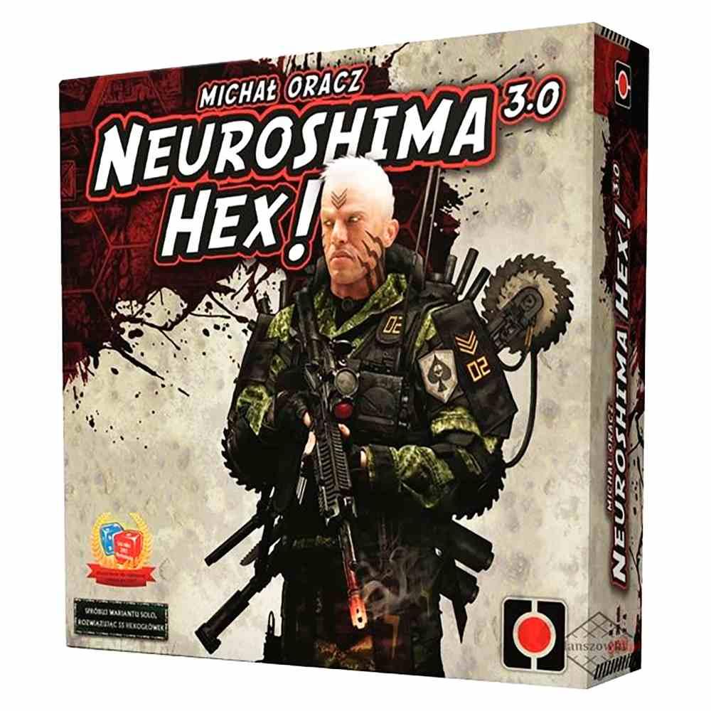 Neuroshima Hex 3.0 Jogo de Tabuleiro