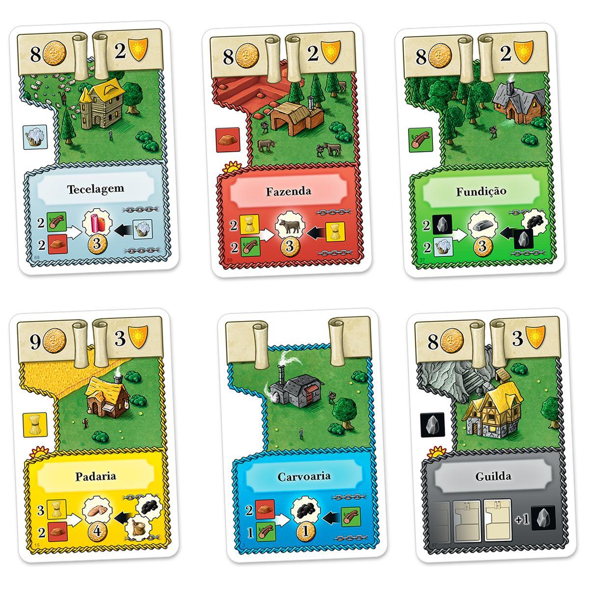 Oh My Goods! Jogo de Cartas Paper Games