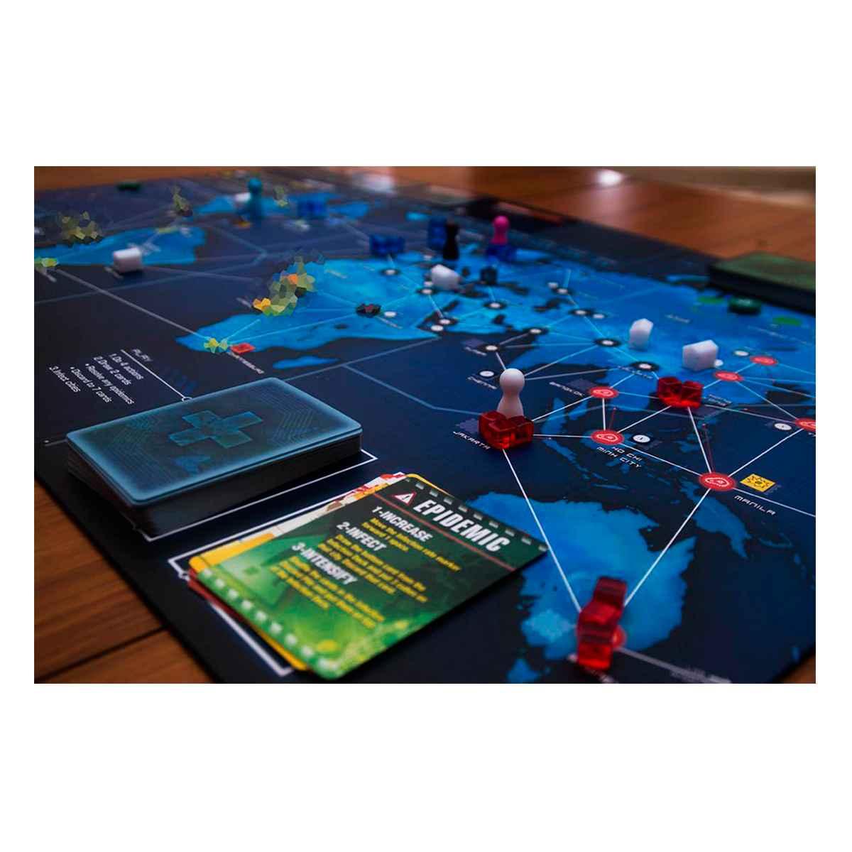 Pandemic Legacy 1ª Temporada  Jogo Tabuleiro Devir