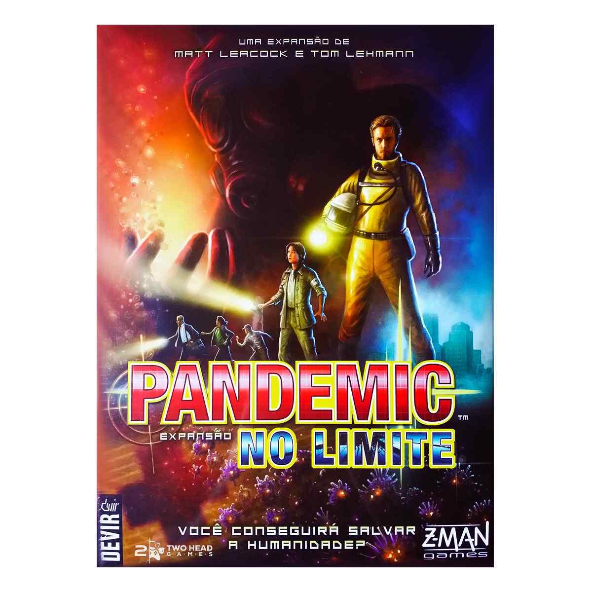 Pandemic No Limite Expansão Jogo De Tabuleiro Devir