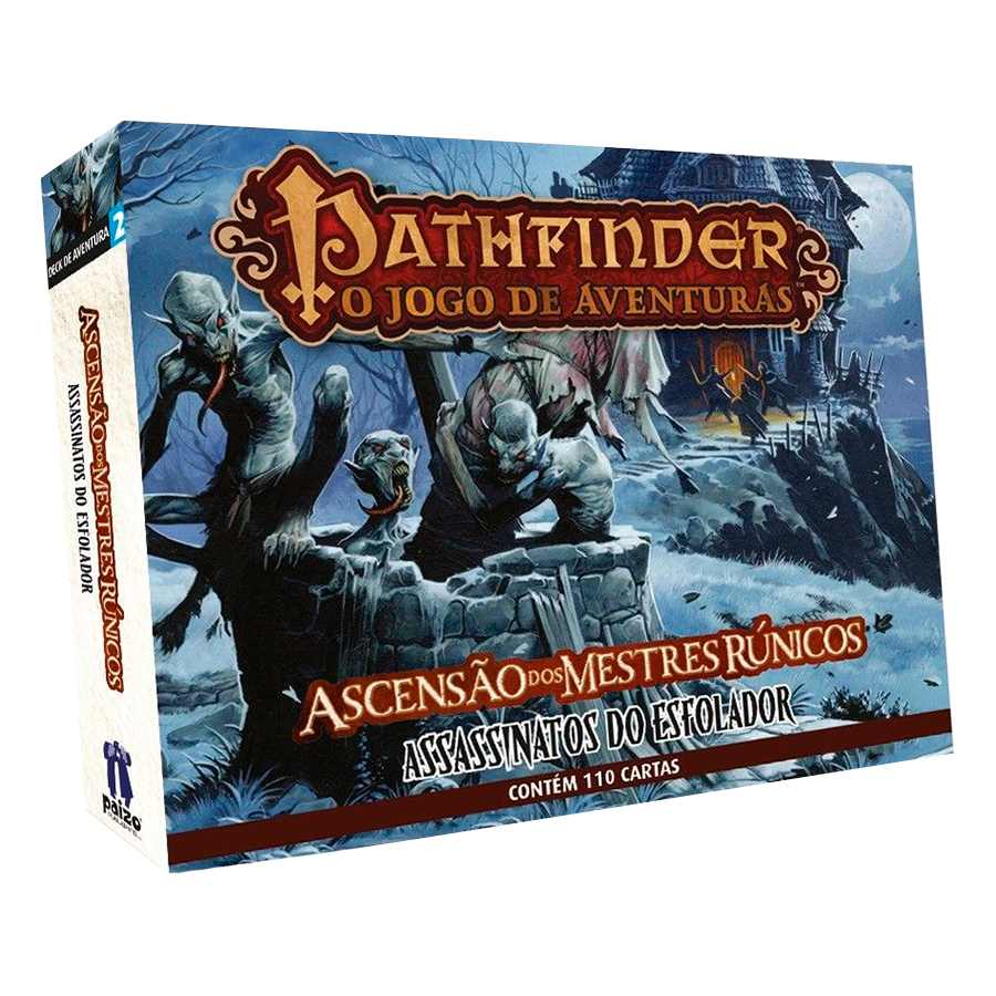 Pathfinder Assassinatos Do Esfolador Expansao 2 Card Game
