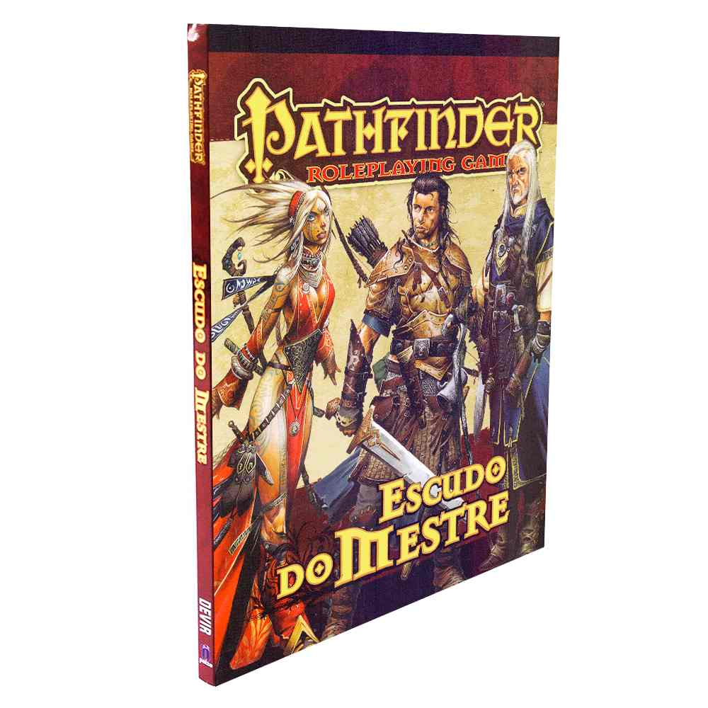 Pathfinder Escudo do Mestre Masters Screen Rpg
