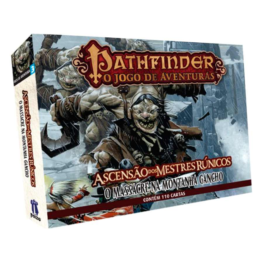 Pathfinder Massacre Da Montanha Gancho Expansao 3 Card Game