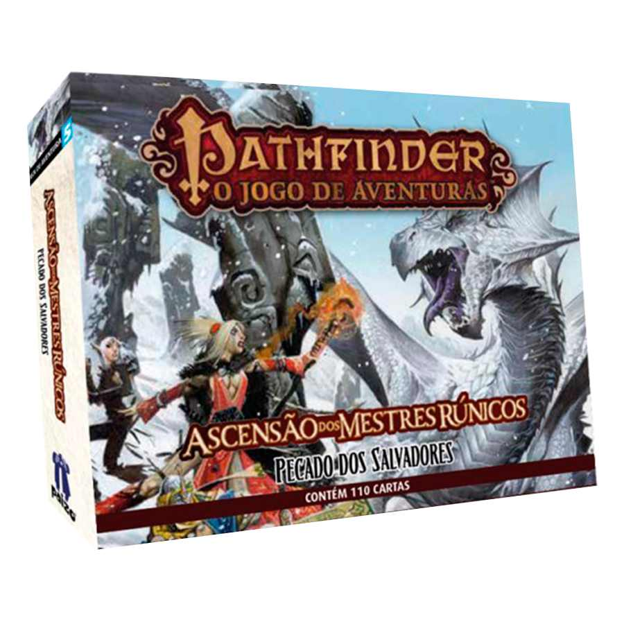 Pathfinder Pecado Dos Salvadores Expansão 5 Card Game