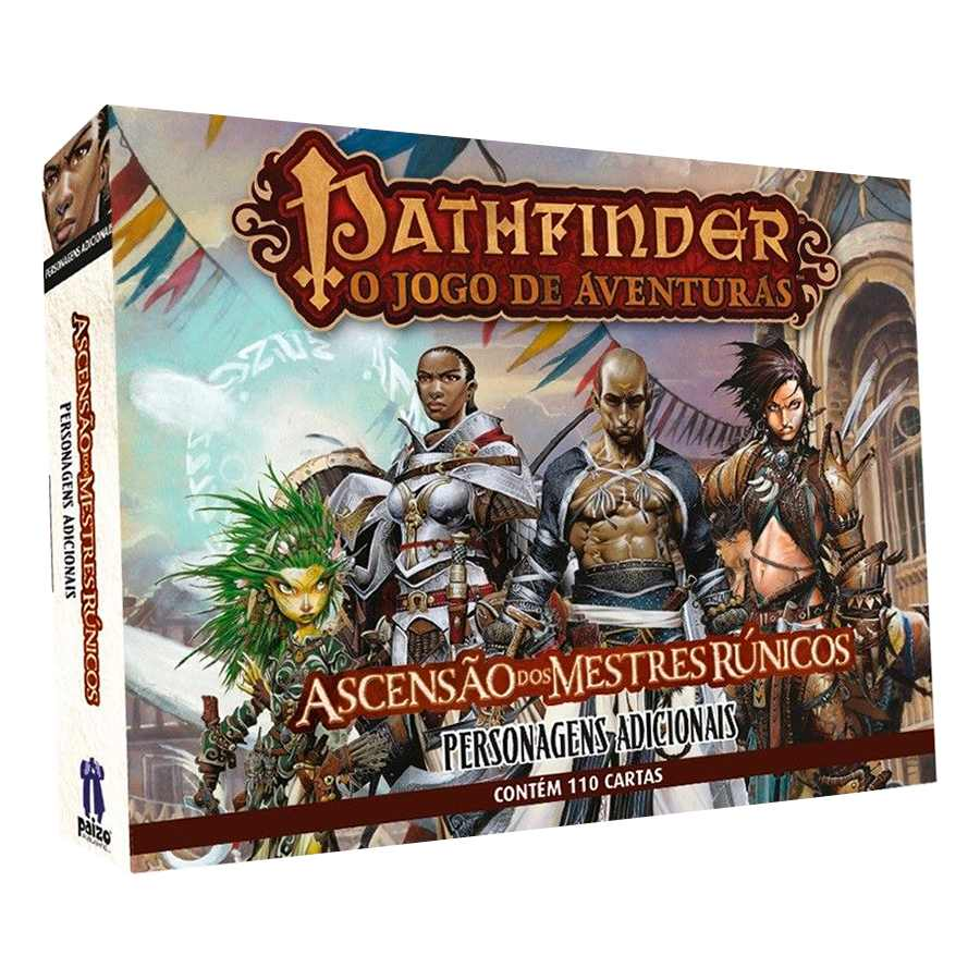 Pathfinder Personagens Complementares Expansao Card Game