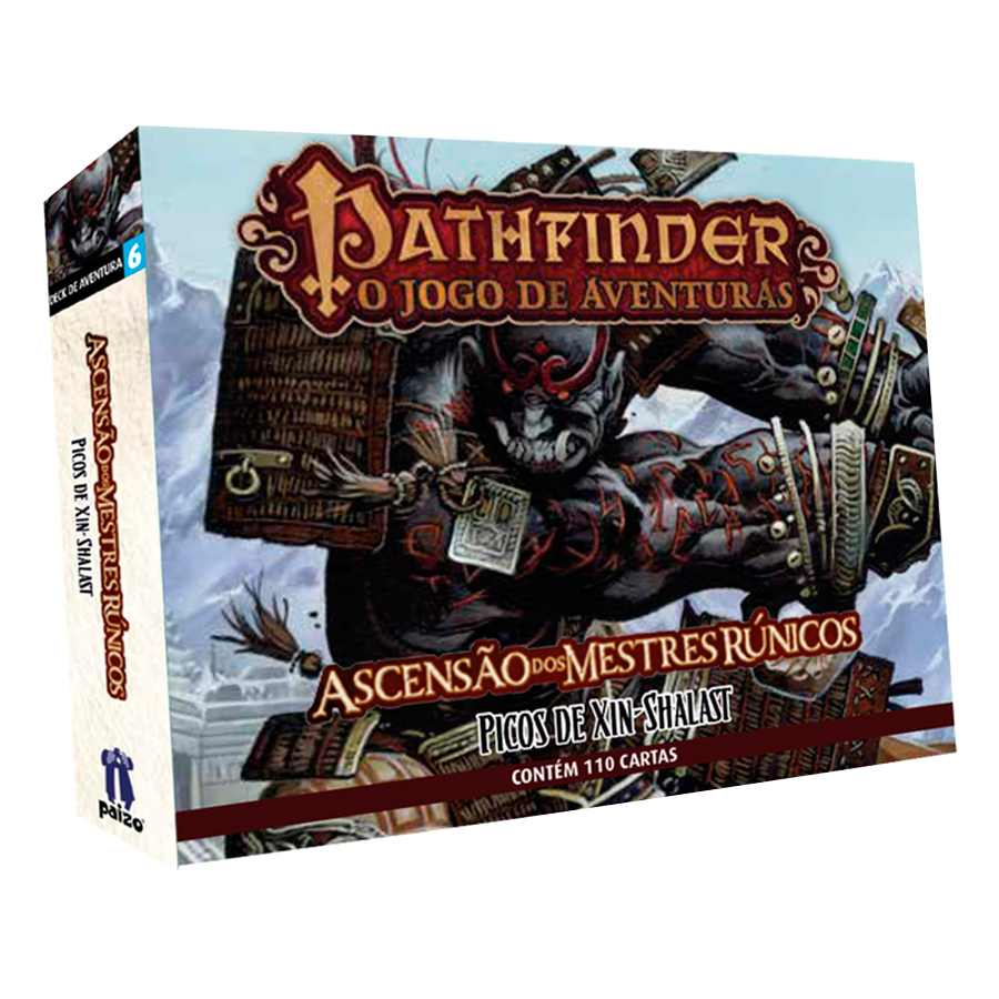 Pathfinder Xin Shalast Expansao 6 Card Game