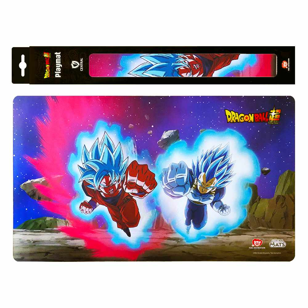 Playmat Dragon Ball Super Goku e Vegeta Oficial