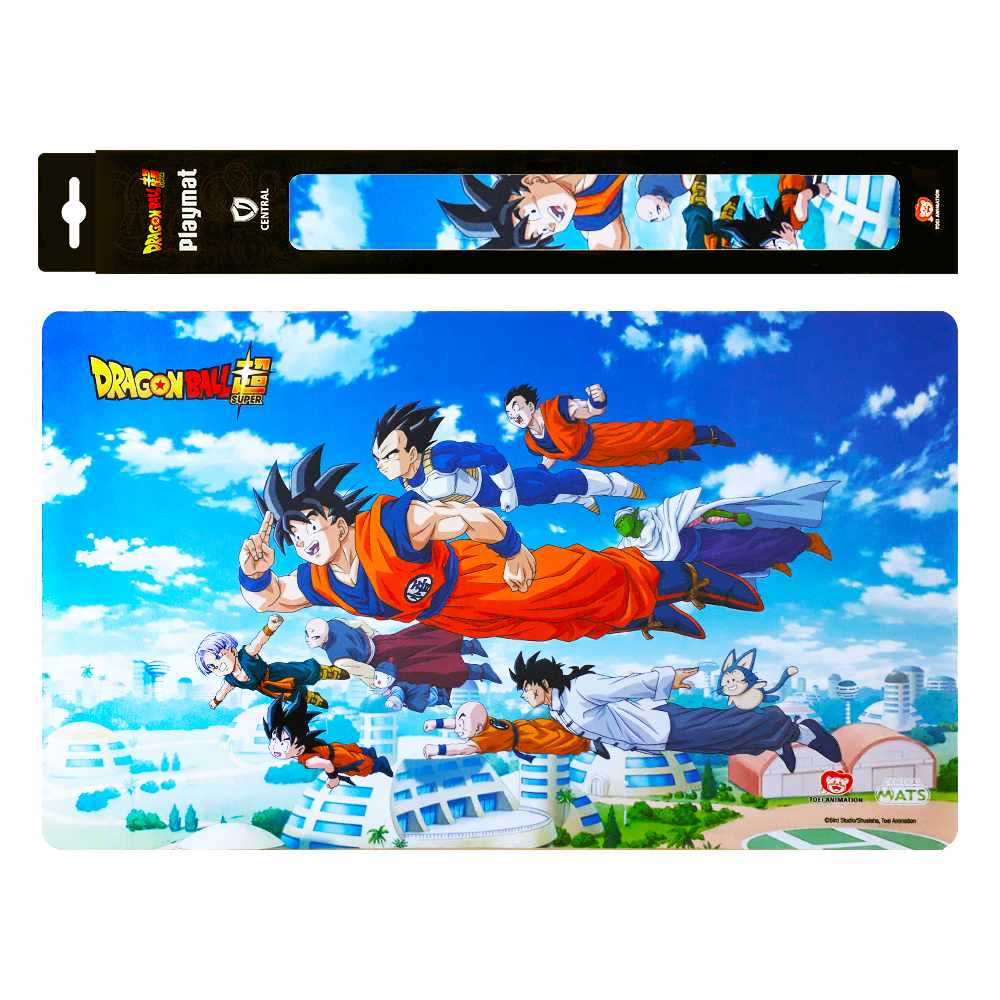 Playmat Dragon Ball Super Passeio Voador