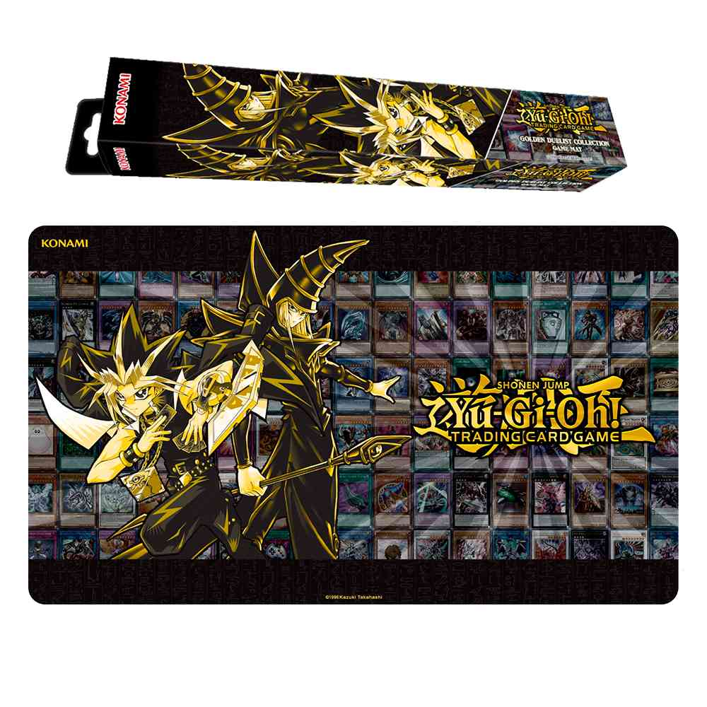 Playmat Yugioh Golden Duelist Collection
